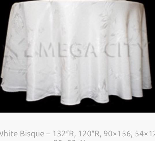 2. White Bisque - 132_R, 120_R, 90x156,
