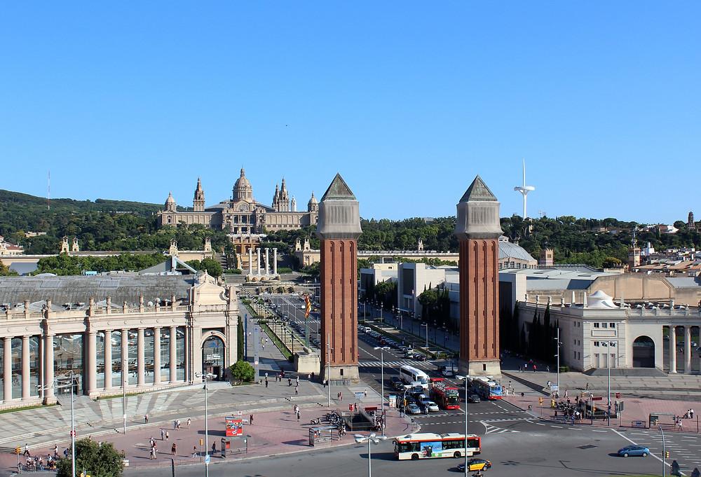 Barcelona Fair Montjuic Gran Via
