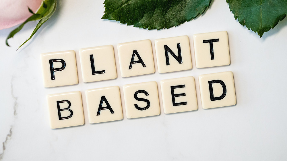 En esta imagen podemos ver unas letras en referencia a las alternativas vegetales