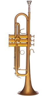 B&S Bb Trompet MBX3 Heritage - Brushed Gold