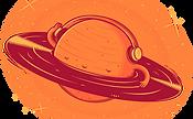 Saturn with Headphones