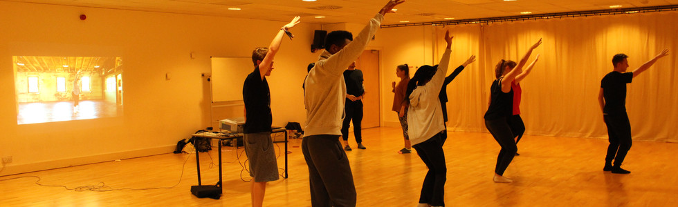 Dance-Tech Workshop at Coventry University