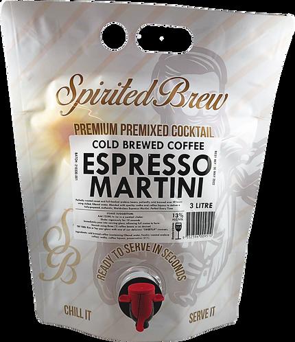 """ESPRESSO MARTINI """"CLUB STRENGTH"""" - 3 ltr"""