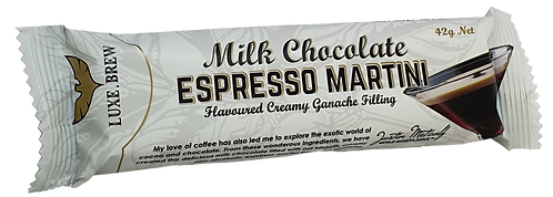 ESPRESSO MARTINI CHOCOLATE BAR - 42g