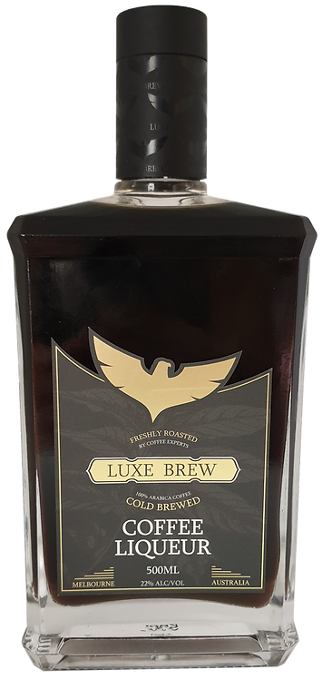 'SACRED GROUNDS' COLD BREWED COFFEE LIQUEUR