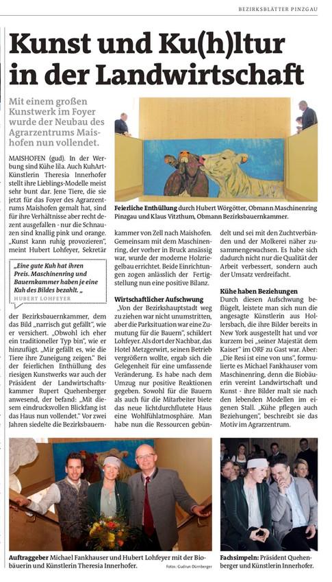 Zeitungsartikel-Bezirksblatt
