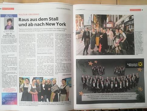 Bericht Mittersiller Nachrichten:14.12.2017