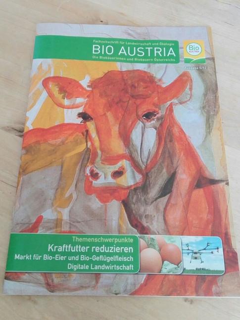 Titelbild Zeitung BIO AUSTRIA