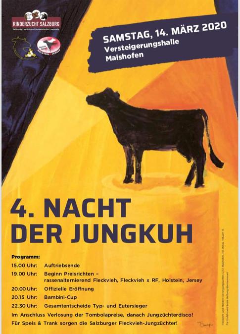 Plakatgestaltung Versteigerung Maishofen