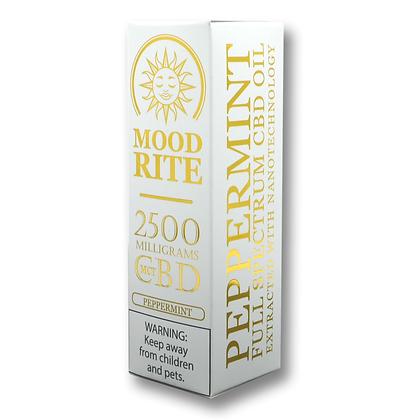 2500mg Peppermint MCT+CBD Tincture