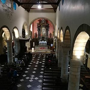 Première Messe à Herstal de M. l'abbé Kaminski