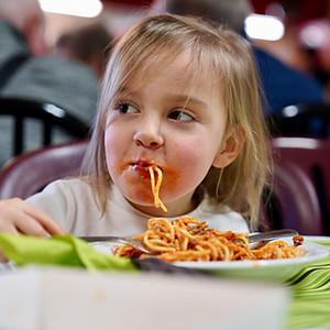 Repas spaghetti