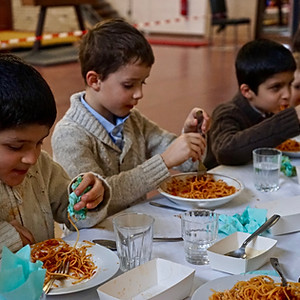 St Nicolas & Diner spaghetti