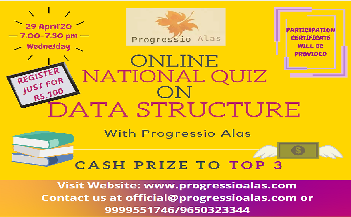Data Structure Quiz Competition