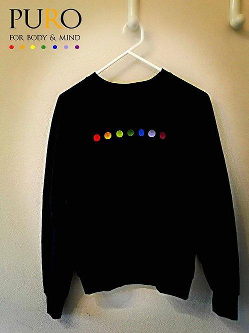PURO Sweater zwart