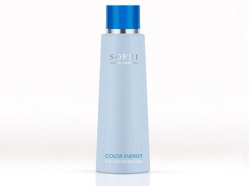 Blauw 3 in one energy gel
