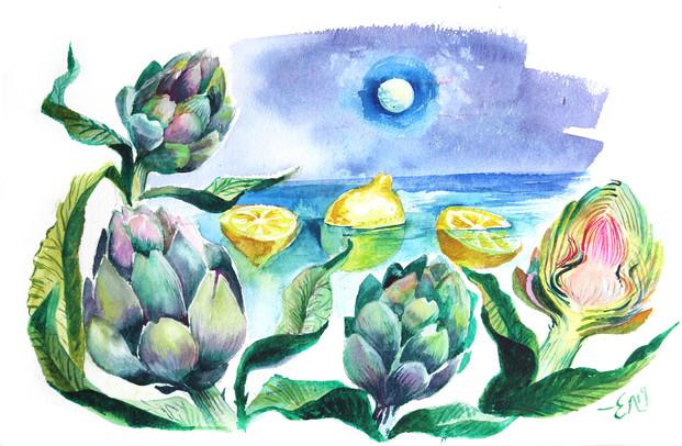 illustration/γαστρονόμος