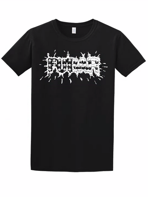 Splatter Logo Black T-Shirt