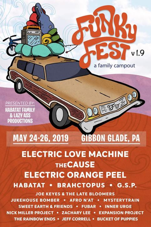 Funky Fest v1.9 - a family campout