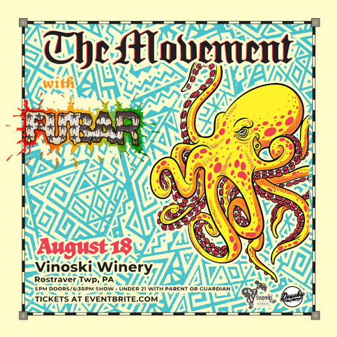 The Movement @ Vinoski Tomorrow!