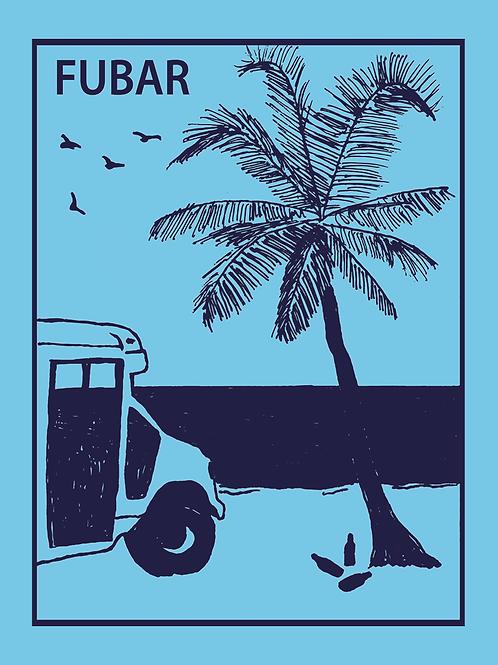 Beach Bus Sticker