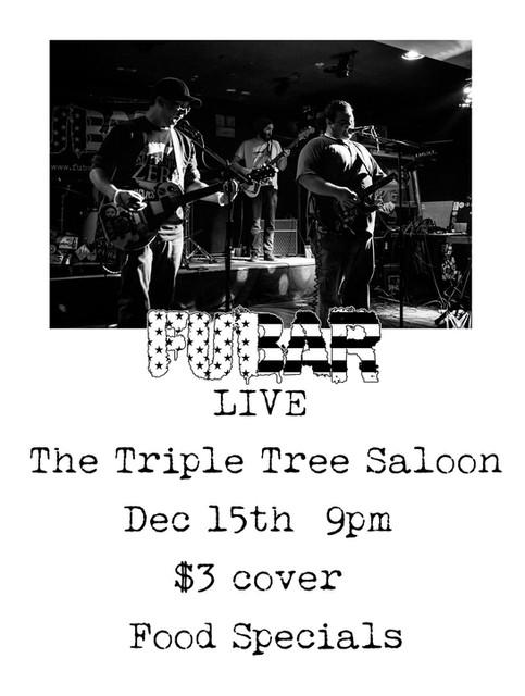 Triple Tree Saloon 12/15!