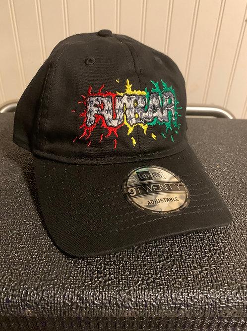 Splatter Logo Adjustable Unstructured Hat