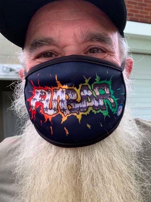 Splatter Logo Face Mask