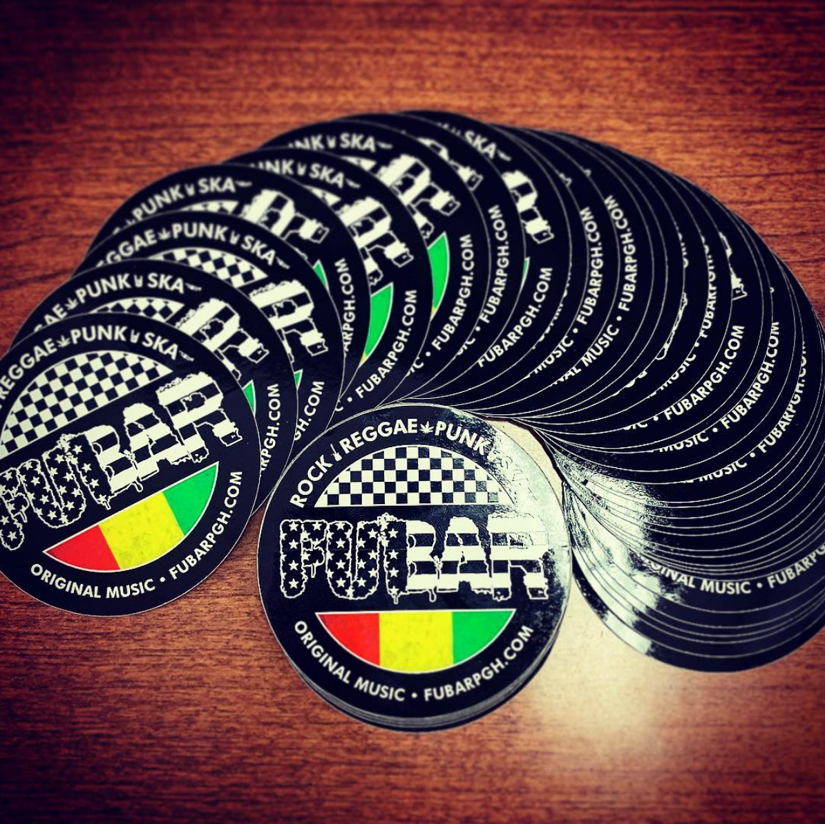 New Circle Stickers