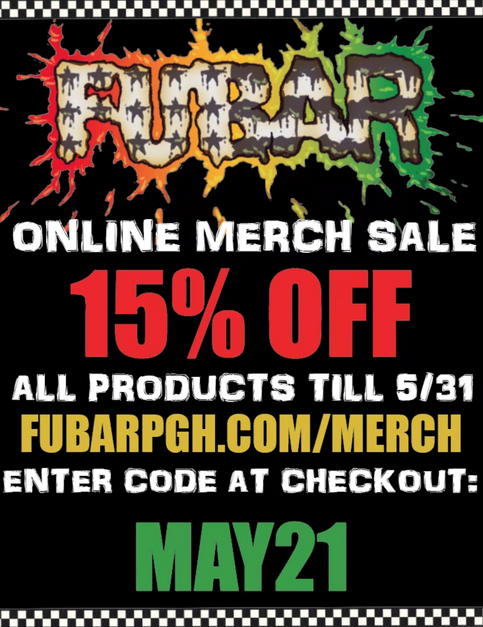 MAY MERCH SALE!