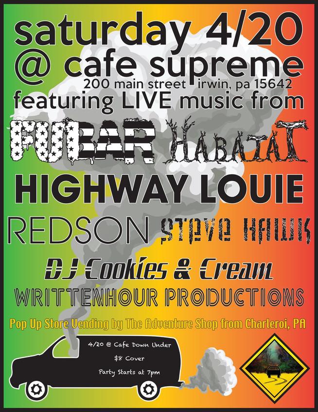 Cafe Supreme 4/20/19
