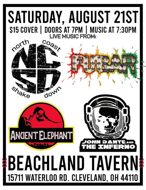 Tomorrow @ Beachland Tavern