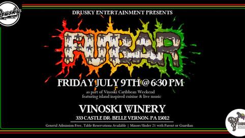 Vinoski Winery Tomorrow!