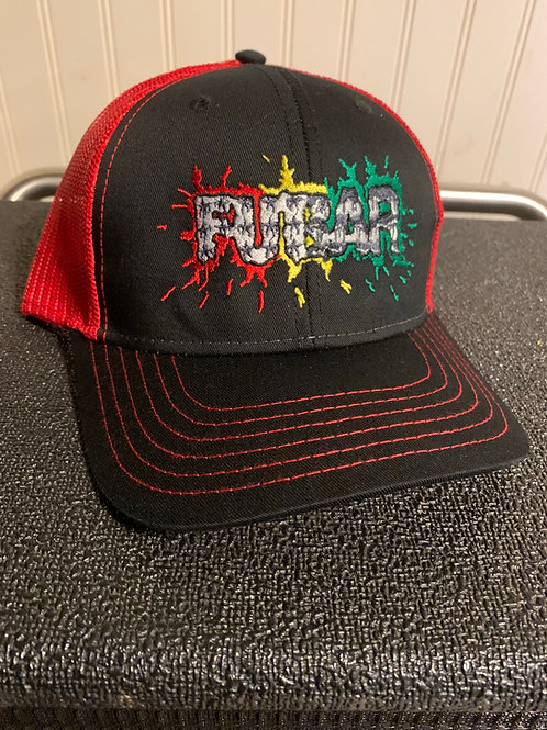 Splatter Logo Snapback Trucker Hat