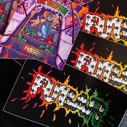 FUBAR Sticker Pack