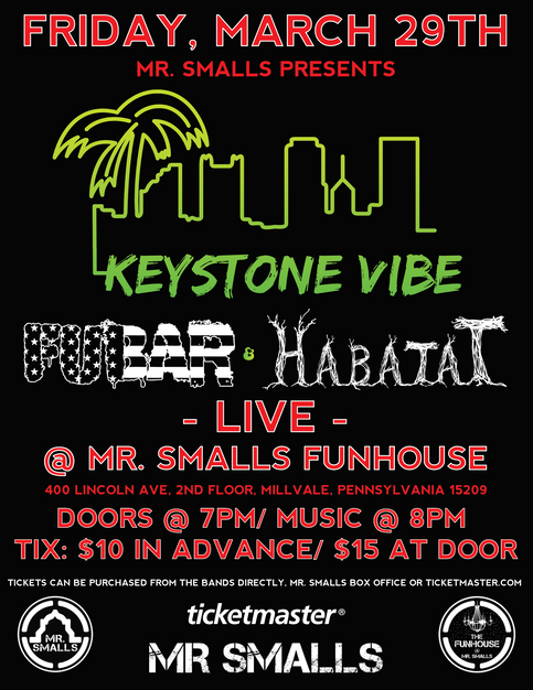Mr. Smalls Funhouse! 3/29
