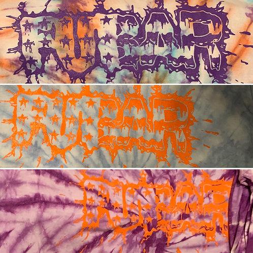 Splatter Logo Tie Dyed T-Shirt