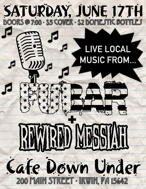 FUBAR & Rewired Messiah at Cafe Supreme!