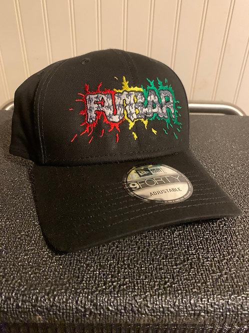 Splatter Logo Adjustable Structured Hat