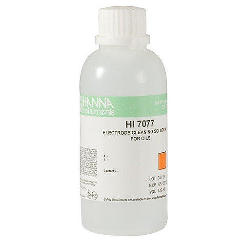 HI-7077L Oil cleaning solution for pH electrodes 500ml