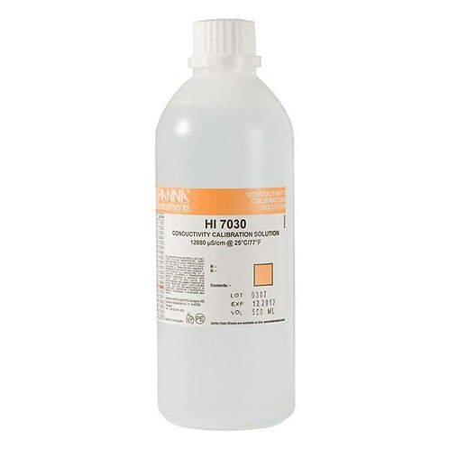 HI-7030L/C Conductivity Solution 12880uS - 500ml - with Certificate