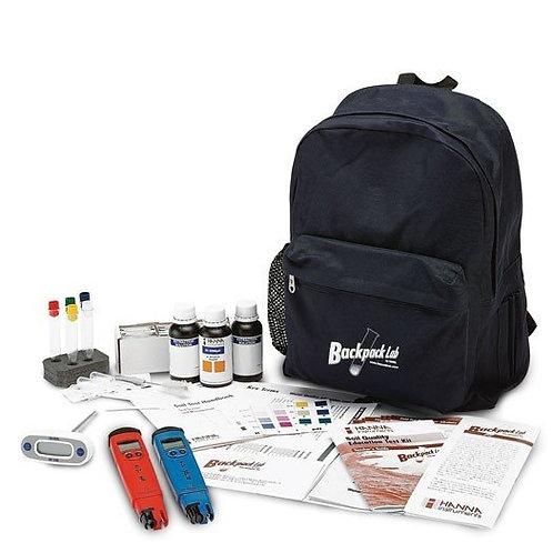 HI-3896BP Backpack Lab Soil Quality Test Kit