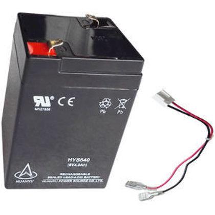 Battery, Lead Acid, 6V4AH