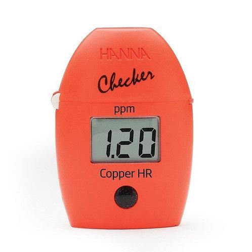 HI-702 Copper High Range Handheld Colorimeter - Checker�HC