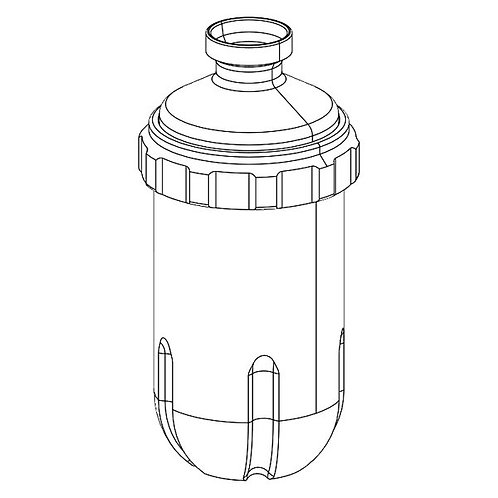 Beaker flask powder 1500ml