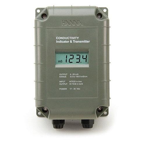 HI-8936BL-N Conductivity Transmitter Using 4-Ring Technology