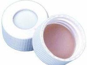 13-425 CAP PP WHT PTFE/SIL.060, 1 Case