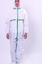 Chemical resistant cleanroom overalls, type 4/5/6