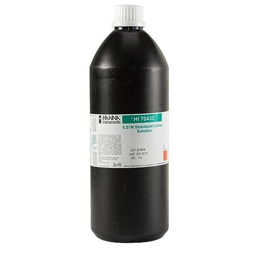 HI-70433 0.01N stabilised iodine, 1 Litre