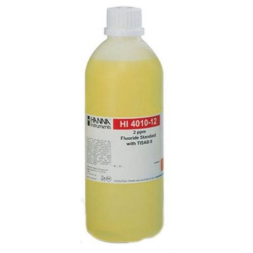 HI-4010-12 2 ppm Fluoride Standard with TISAB II